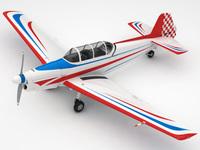 Zlin 526F 3D Model