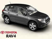Toyota RAV4 3D Model