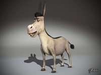Donkey std mat 3D Model