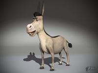 Donkey std mat 3D Model