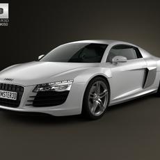 Audi R8 Coupe 2013 3D Model