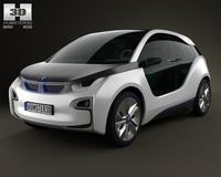 BMW i3 2012 3D Model