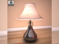 Ashley I-Zone Bookcase Table Lamp 3D Model