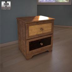 Ashley Alexander Youth Nightstand 3D Model