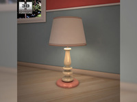 Ashley Alexander Loft Table Lamp 3D Model