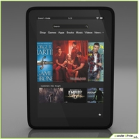 Replica Kindle Fire 3D Model