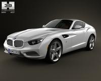 BMW Zagato Coupe 2012 3D Model