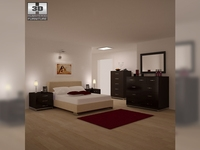 Bedroom Furniture 26 Set 3D Model