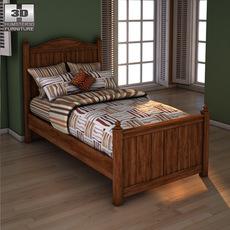 Ashley Camp Huntington Poster Bed 3D Model