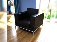 IKEA Arild armchair 3D Model