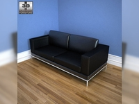 IKEA Arild Three-seat sofa 3D Model