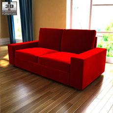 IKEA Kivik two-seat sofa 3D Model