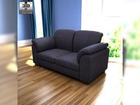 IKEA Tidafors Two-seat sofa 3D Model