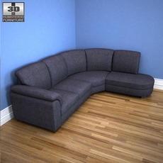 IKEA Tidafors Corner sofa 3D Model