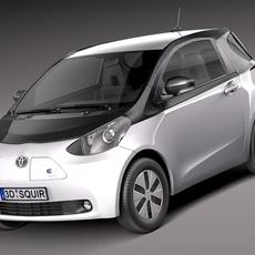 Toyota IQ EV 2013 3D Model