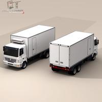 Truck fridge 3D Model