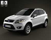 Ford Kuga 2012 3D Model