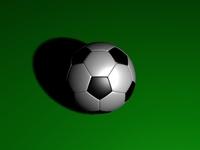 Free Soccerball 3D 3D Model