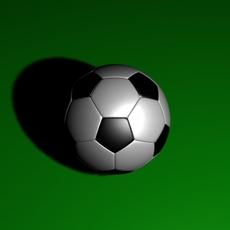 Soccerball 3D 3D Model