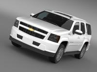 Chevrolet Tahoe Hybrid 2012 3D Model