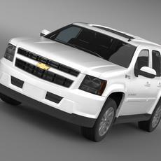 Chevrolet Tahoe Hybrid 2012 3D Model