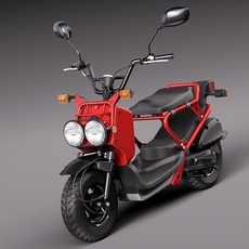 Honda Zoomer - Ruckus 2013 3D Model