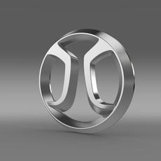 BAIC Logo 3D Model