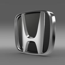 Honda company logo 3D Model