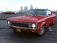 AMC Matador Coupe 1972 3D Model