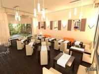 Restaurant interior 1 3D Model