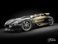 Peugeot EX-1 3D Model