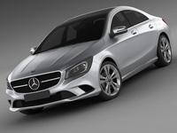Mercedes CLA 2013 3D Model