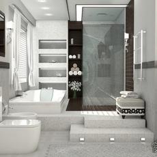 Bathroom 1 3D Model