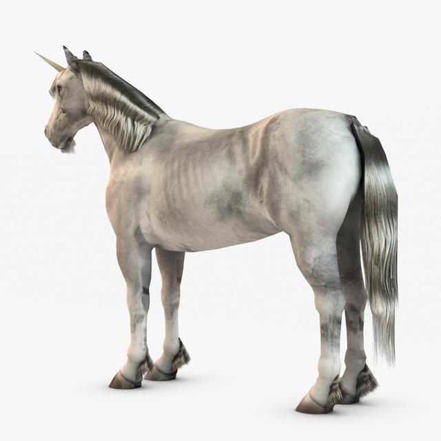 unicorn horse 3d digital - photo #31