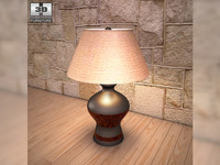 Ashley Colter Table Lamp 3D Model