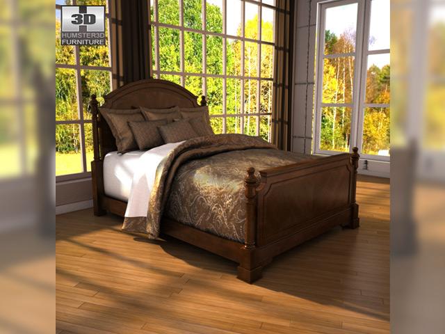 ashley leighton poster bedroom set 3d model