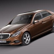 Mercedes E-Class sedan 2014 3D Model