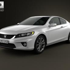 Honda Accord coupe 2013 3D Model