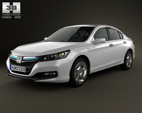 Honda Accord PHEV 2014 3D Model