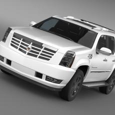 Cadillac Escalade 3D Model