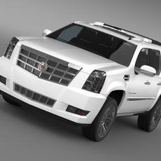 Cadillac Escalade 2011 Platinum 3D Model
