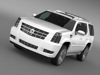 Cadillac Escalade 2013 3D Model