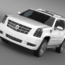 Cadillac Escalade 2013 3D Model