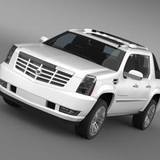 Cadillac Escalade 2013 EXT 3D Model