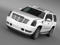 Cadillac Escalade European Version 3D Model