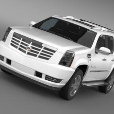 Cadillac Escalade European Version 3D Model
