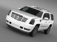 Cadillac Escalade Hybrid 3D Model