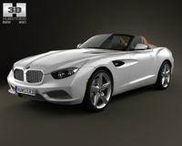 BMW Zagato Roadster 2012 3D Model
