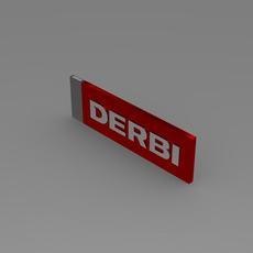 Derbi 3d Logo 3D Model