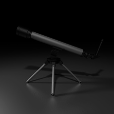 Telescope 4TY-1000 3D Model